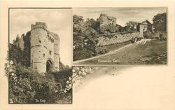 2 insets THE KEEP//CARISBROOKE CASTLE