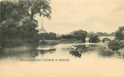 WALLINGFORD CHURCH & BRIDGE