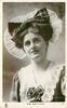 MISS JEAN AYLWIN  head & chest, frilly cap, faces front, looks up
