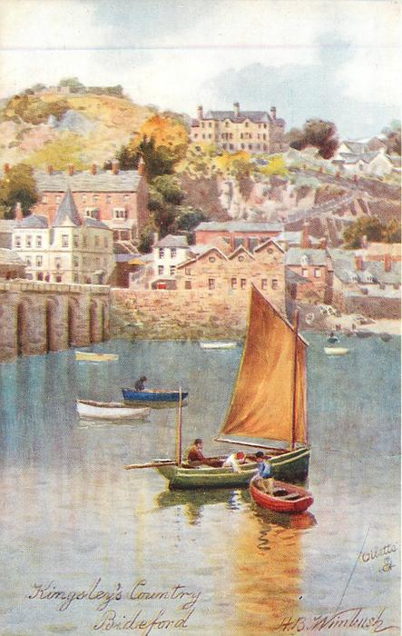BIDEFORD  (boats in water, town in background)