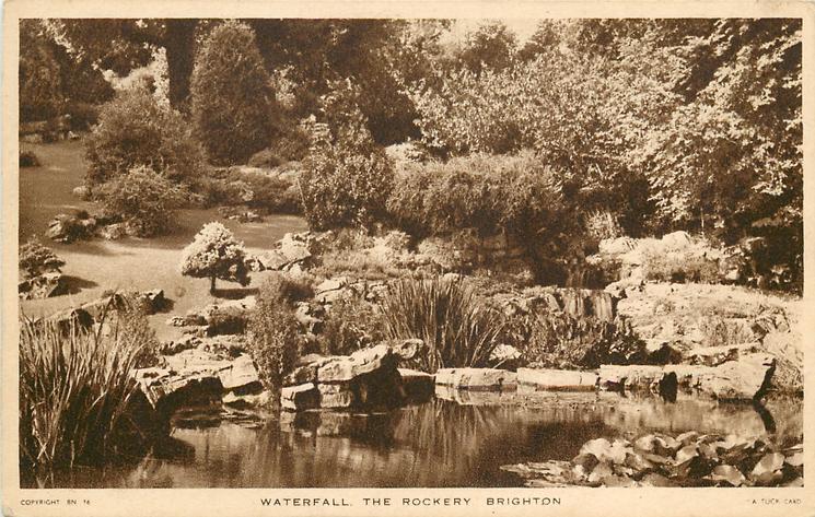 WATERFALL, THE ROCKERY