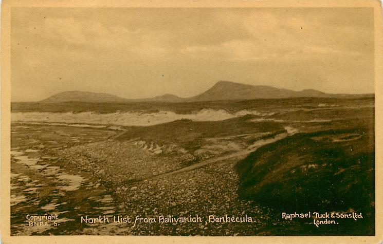 NORTH UIST FROM BALIVANICH