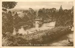 LAKE AND RIVER FROM BRUNDALL GARDENS