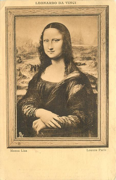 MONA LISA--LOUVRE PARIS