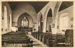 INTERIOR ST. SWITHUN'S CHURCH