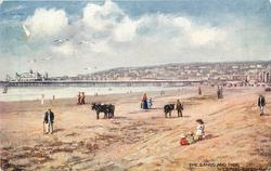 THE SANDS AND PIER, WESTON-SUPER-MARE