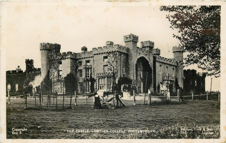 THE CASTLE, LOWTHER COLLEGE