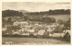 LASSWADE VILLAGE FROM THE BRAE