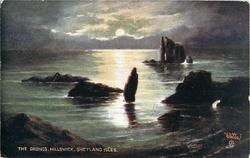 THE DRONGS, HILLSWICK, SHETLAND ISLES