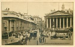 BANK OF ENGLAND & ROYAL EXCHANGE