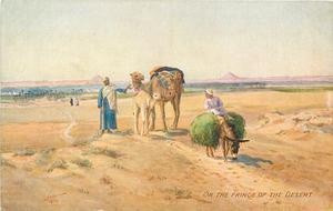 ON THE FRINGE OF THE DESERT