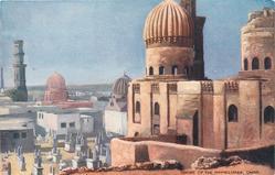 TOMBS OF THE MAMELUKES, CAIRO