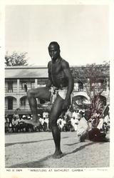 WRESTLERS AT BATHURST GAMBIA