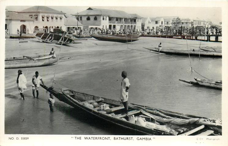 THE WATERFRONT, BATHURST, GAMBIA