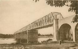 BRIDGE OVER RIVER NIGER, AT JEBBA