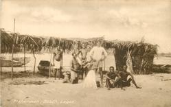 FISHERMEN, BEACH, LAGOS