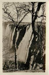 VICTORIA FALLS view of both torrents