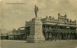 RHODES STATUE, BULAWAYO