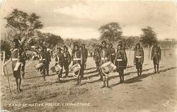BAND OF NATIVE POLICE, LIVINGSTONE