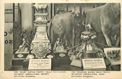 THE MILNE CATTLE TROPHY,  VALUE 500 GUINEAS, SALISBURY AGRICULTURAL... RHODESIA