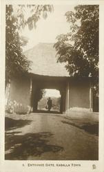 ENTRANCE GATE KABALLA TOWN