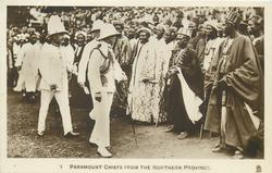 PARAMOUNT CHIEFS FROM THE NORTHERN PROVINCE