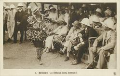 BENGEN, A FAMOUS GIRL DANCER