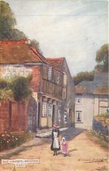 OLD HOUSES, BRADING, I.O.W.