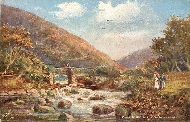 FINGLE BRIDGE, DARTMOOR