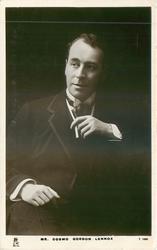 MR. COSMO GORDON LENNOX  with cigarette