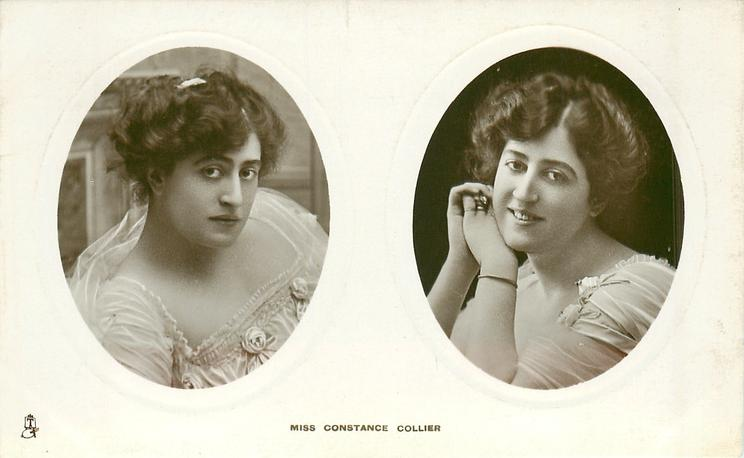 2 insets MISS CONSTANCE COLLIER