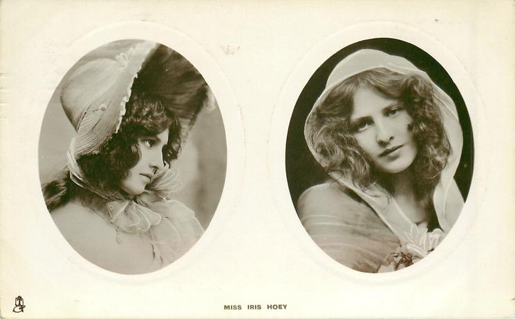 2 insets MISS IRIS HOEY