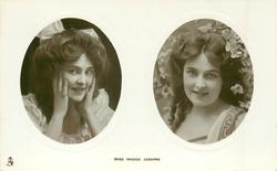 2 insets MISS MADGE LESSING