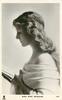 MISS NINA SEVENING  head & chest, facing left, reading