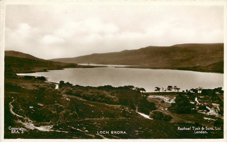 LOCH BRORA distant view
