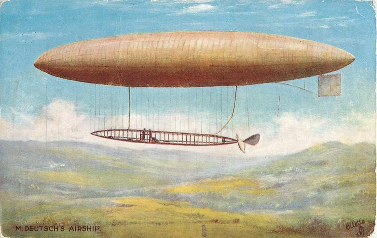 M. DEUTSCH'S AIRSHIP