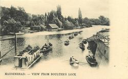 MAIDENHEAD, VIEW FROM BOULTER'S LOCK