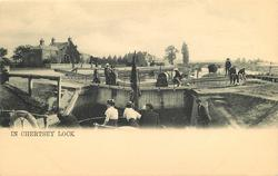 IN CHERTSEY LOCK