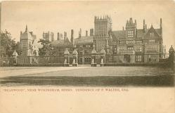 """BEARWOOD"", NEAR WOKINGHAM, BERKS. RESIDENCE OF F.WALTER, ESQ"