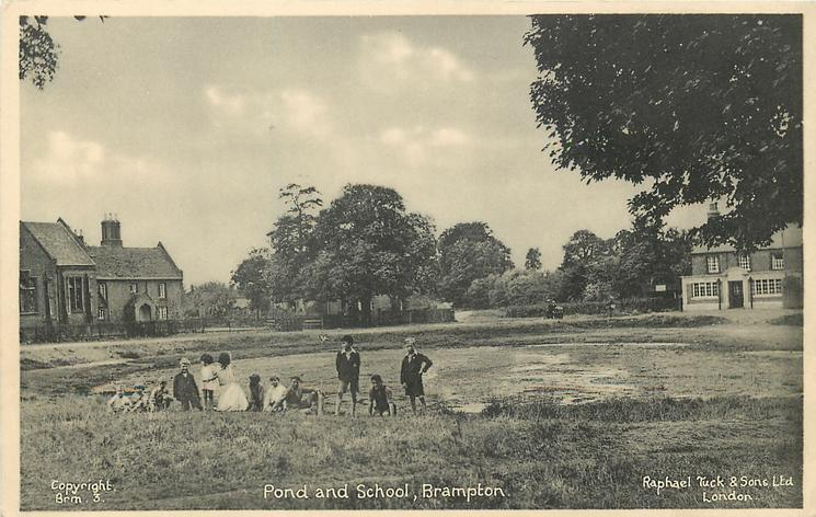 POND AND SCHOOL