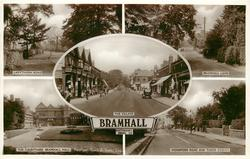 5 insets LADYTHORN ROAD/BRAMHALL LANE/THE VILLAGE/THE COURTYARD, BRAMHALL HALL/WOODFORD ROAD AND TUDOR CINEMA