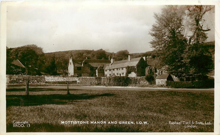 MOTTISTONE MANOR AND GREEN, I.O.W.