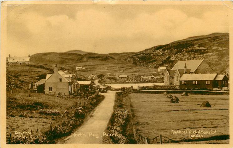 NORTH BAY buildings and hay bales
