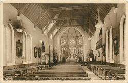 THE INTERIOR OF ST. MARY'S CHURCH (NEWHOUSE)