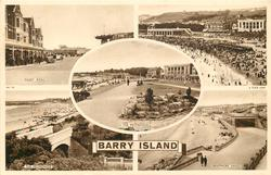 5 insets PAGET ROAD/THE SANDS/THE PROMENADE/THE PROMENADE/WHITMORE SANDS, BARRY ISLAND