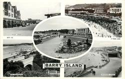 5 insets PAGET STREET/THE SANDS/THE PROMENADE/THE PROMENADE/WHITMORE SANDS, BARRY ISLAND