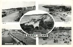 5 insets THE PROMENADE/THE BEACH AND FRIARS POINT/THE PROMENADE/THE PROMENADE/THE BEACH, WHITMORE BAY, BARRY ISLAND