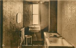 A BATHROOM, BOWES MOOR HOTEL