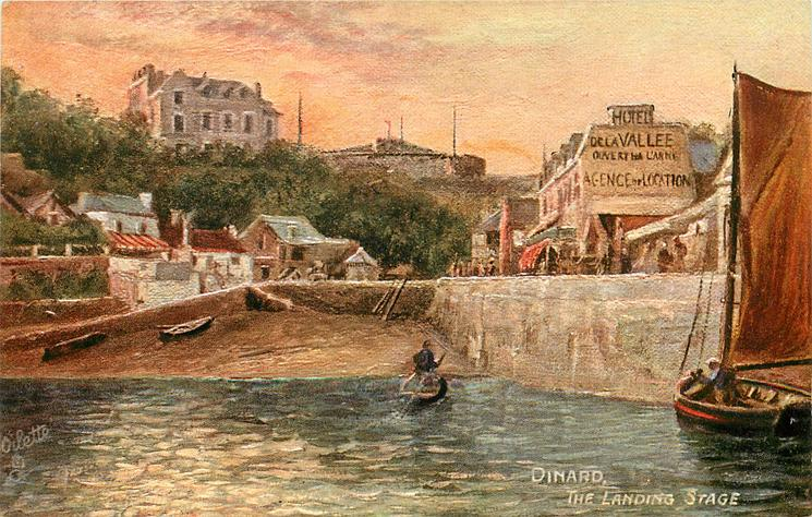 DINARD, THE LANDING STAGE