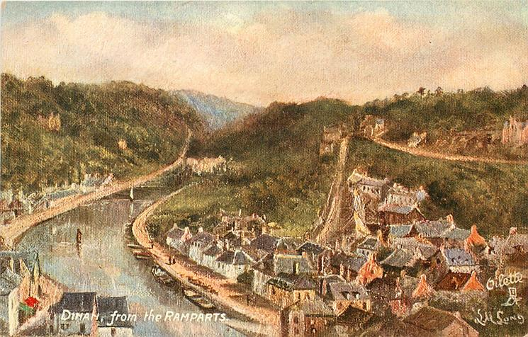 DINAN, FROM THE RAMPARTS